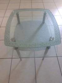 pair of glass end tables double layer  Port Richey, 34668