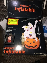 Totally ghoul 6' inflatable