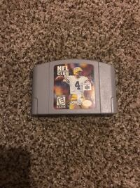 Nintendo NFL game cartridge South Elgin, 60177