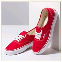 Authentic Red Van's classic canvas lace up  Essex, 21221
