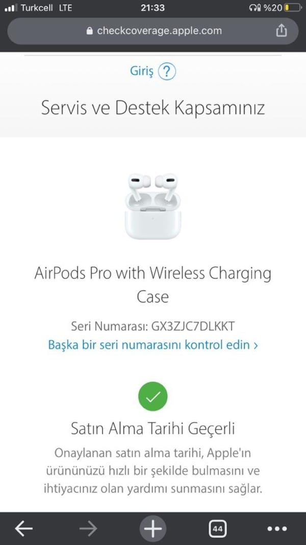Apple airpods pro 3 4