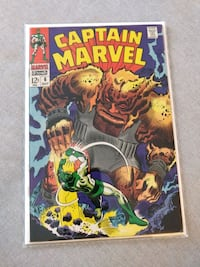 Captain Marvel (1968 1st Series) Issue 6 Toronto, M1T 0A4