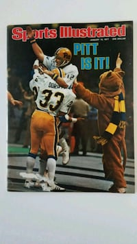 Tony Dorsett - Sports Illustrated - Jan 1977 Issue