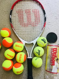 Juniors Tennis Racket with balls Falls Church, 22043