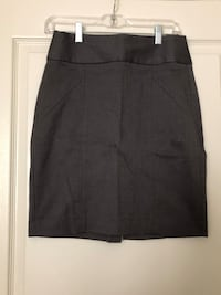 Women's Grey Pencil Skirt 28 mi