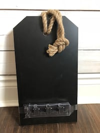 """NEVER USED! 8""""x14"""" Magnetic Chalkboard Hanging Rope Markham, L3P 3L5"""