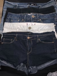 5 pair of jeans shorts Franklin, 13775