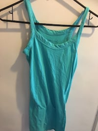 women's green camisole