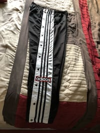 black and white Adidas track pants Edmonton, T5S 0L8