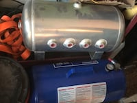 Air bag air tank 5gal and two air gauges as well as 4switch panel Yuma, 85365