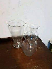 clear glass pitcher and drinking glasses Brampton, L6X 0E4