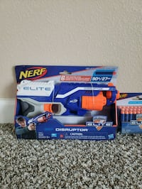 Nerf N-Strike Elite Disrupter With 30 Pack Refill Costa Mesa, 92626