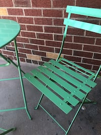 *FINAL CALL* Lime Green Foldable Patio Set Silver Spring, 20910