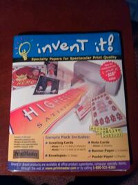 New invent it! Specialty papers for spectacular print quality Elkhart, 46516