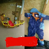 toddler's assorted clothes Joliette