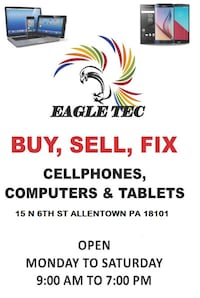 BUY , SELL , REPAIR CELLPHONES , COMPUTERS & TABLE Allentown