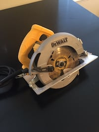 gray and yellow Dewalt circular saw Abilene, 79601