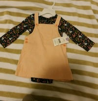Baby girl's dress-Brand new/ size 6-12 months.  Mississauga, L5B 0G4