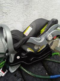 black and gray car seat carrier Calgary, T2J 1B3