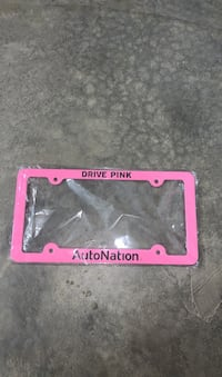 Autonation License plate frame