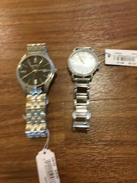 Caravelle NY watch bundle, 2 watches Bellevue, 98004