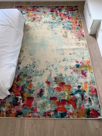 Brand New Watercolor-Style Rug