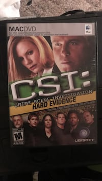 Macdvd: csi hard evidence game