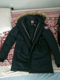 Men's Winter Parka Jacket Size S