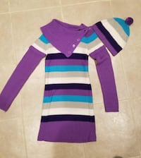 Girl's sweater dress set.  Size 10-12. Springfield, 22153