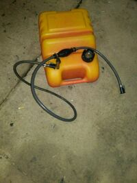 6 gallon gas can with the hose Evansville, 47714
