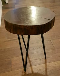 Wood stool / Side table Newmarket, L3Y