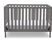 Baby Mini Crib 3-in-1 Convertible  Brentwood