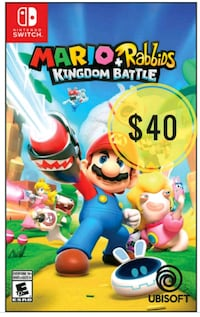 NEW Sealed Mario Rabbids for Switch Vancouver, V5P 4M4