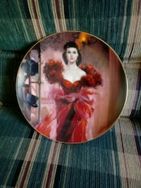 Gone with the wind Commemorative Plate.  Excellent condition.