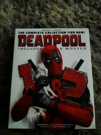 Deadpool 1&2Blu-Ray and DVD  Fort Washington, 20744
