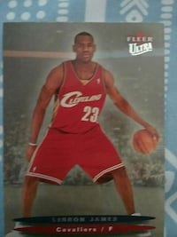 Fleer Ultra Celveland 23 Lebron James trading card Beaver Dam, 53916