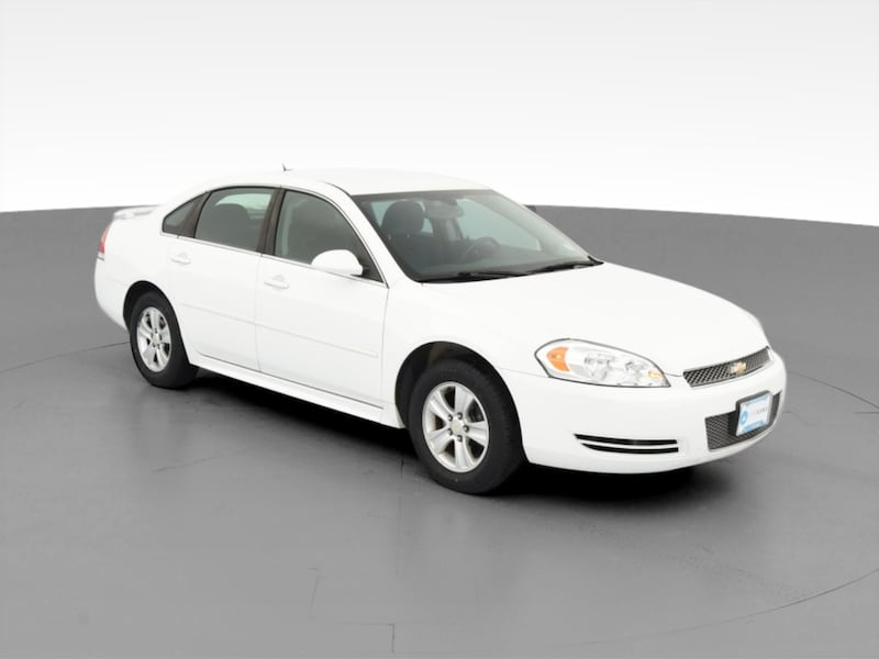 2014 Chevy Chevrolet Impala Limited sedan LS Sedan 4D White  14