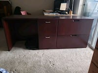 brown wooden cabinet with drawer Vancouver, 98682