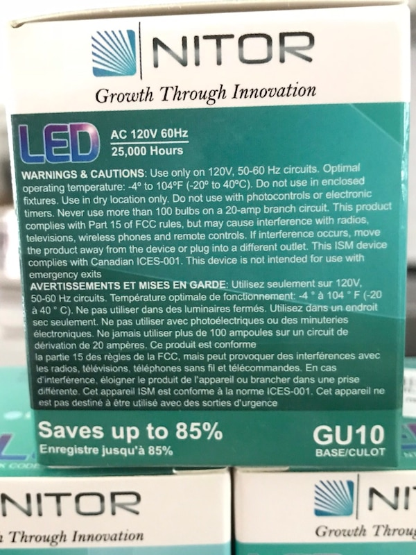Brand New Dimmable LED Light Bulbs 26 Available 66087643-7375-4248-9328-45a20854e758