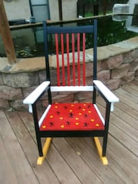 Adult Mickey mouse wooden rocking chair Yukon, 73099