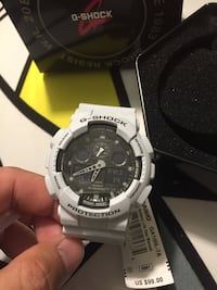round silver Casio G-Shock digital watch Irvine, 92618
