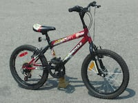 "OUTGROWN NOW ALMOST NEW BOYS 18"" SUPERCYCLE MTB 5 SPEEDS WITH SUSPENSION. Mississauga"