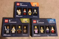 TOYS R US EXCLUSIVE 3 DIFFERENT SETS OF 4 LEGO MINI-FIGURES