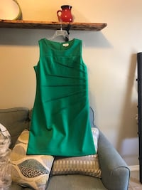 green and white tank top Mercedes