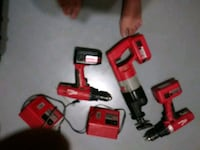 red and black cordless power drill Phoenix, 85040