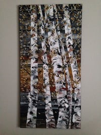 Photo of white   and brown tree wall decor  Mississauga, L5L 3E4