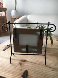 Rustic Photo Frame. 14 inches by 11 inches high. Photo Frame is 4 inches by 6 inches. Unique and beautiful.  Cochrane, T4C 1K6