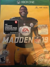 Madden 19 Xbox Washington, 20010