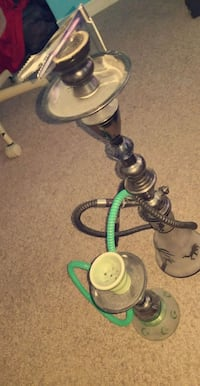 black and green hookah brand new!! Vaughan, L6A 1N6