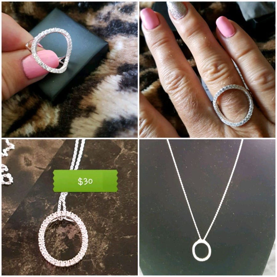 Matching ring & necklace